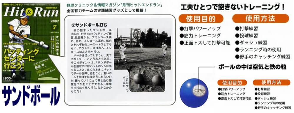 野球サンドボール